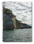 Lake Superior Pictured Rocks 10 Spiral Notebook