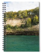Lake Superior Pictured Rocks 11 Spiral Notebook