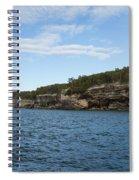 Lake Superior Pictured Rocks 22 Spiral Notebook