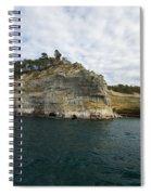Lake Superior Pictured Rocks 27 Spiral Notebook