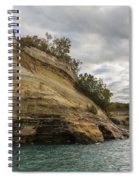 Lake Superior Pictured Rocks 53 Spiral Notebook