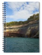 Lake Superior Pictured Rocks 6 Spiral Notebook