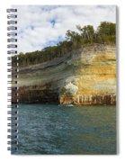 Lake Superior Pictured Rocks 8 Spiral Notebook