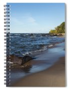 Lake Superior Union Bay 3 Spiral Notebook