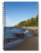 Lake Superior Union Bay 4 Spiral Notebook