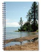 Lake Tahoe Beach Spiral Notebook