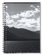 Lake Tahoe Heavenly Spiral Notebook