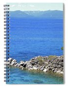 Lake Tahoe Rocky Point Spiral Notebook
