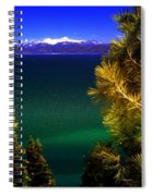 Lake Tahoe Vista Spiral Notebook