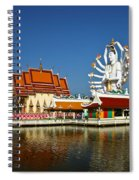 Lake Temple Spiral Notebook
