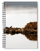Lake Visitors Spiral Notebook