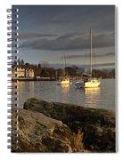 Lake Windermere Ambleside, Cumbria Spiral Notebook