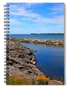 Lakeside Bend Spiral Notebook