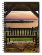 Lakeside Serenity Spiral Notebook