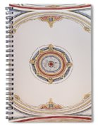 Laleli Mosque Ceiling Spiral Notebook
