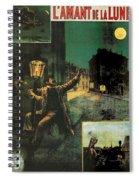 L'amant De La Lune Spiral Notebook