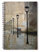 Lamp Posts And Concrete Spiral Notebook