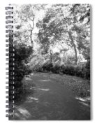 Lamps Of Central Park Spiral Notebook
