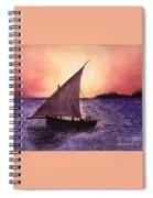 Lamu Kenya Spiral Notebook