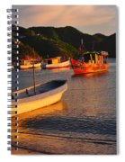 Lanchas Taganga Spiral Notebook