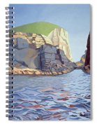 Land And Sea No I - Ramsey Island Spiral Notebook