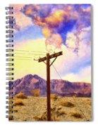 Land Line Spiral Notebook