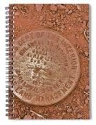 Land Survey Marker Spiral Notebook