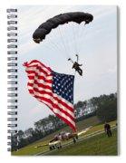 Landing Loyalty  Spiral Notebook