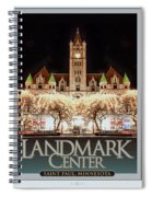 Landmark Center Winter Spiral Notebook
