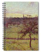 Landscape At Eragny Spiral Notebook