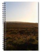 Landscape At Point Reyes California . 7d9958 Spiral Notebook