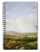 Landscape With Figures  Spiral Notebook