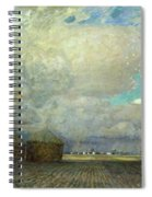 Landscape With Huts Spiral Notebook