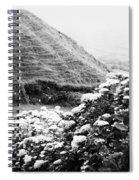 Landscape With Hydrangeas Spiral Notebook