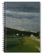 Landscape With Stormy Sky Spiral Notebook