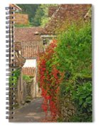 Lane And Ivy In St Cirq Lapopie France Spiral Notebook