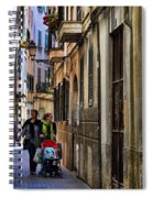 Lane In Palma De Majorca Spain Spiral Notebook