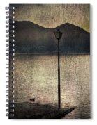 Lantern At The Lake Spiral Notebook
