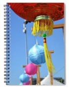 Lanterns Spiral Notebook