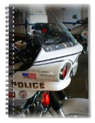 Lapd Motorcycle Spiral Notebook