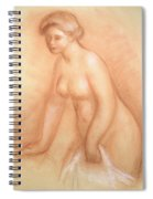 Large Bather Spiral Notebook