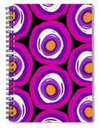 Large Scale Spots Spiral Notebook