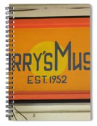 Larrys Music  Est 1952 Spiral Notebook