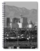 Las Vegas Suburbs Spiral Notebook