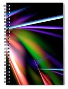 Laser Light Show Spiral Notebook