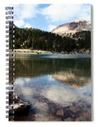Lassen Mountain Lakes Spiral Notebook
