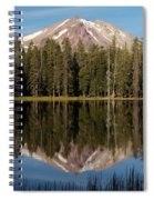 Lassen Peak Reflections Spiral Notebook
