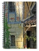 Last Light In Sarlat Spiral Notebook