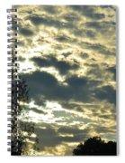 Last Light On Hallow's Eve 2012 Spiral Notebook