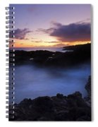Last Light Over The South Shore Spiral Notebook